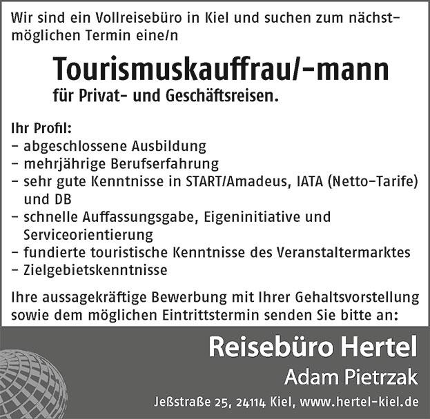Reiseburo Hertel Kiel